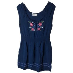 Abercrombie • Embroidered Mini Dress